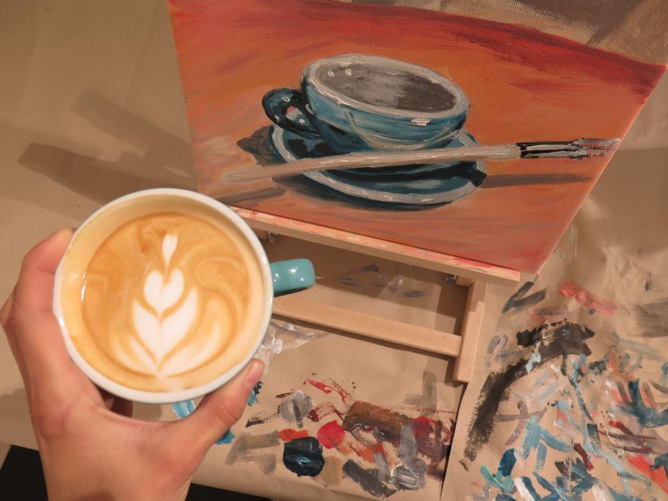 Coffeeslava - Maľovanie kávou a grafický workshop